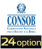 24option regolamentato CONSOB