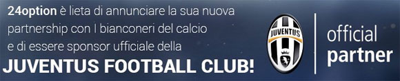 24option partner della Juventus