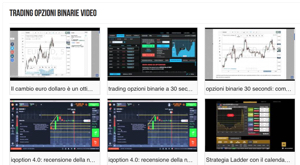 trading opzioni binarie video