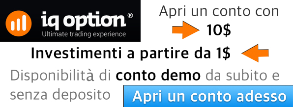 Apri un conto con IQ Option